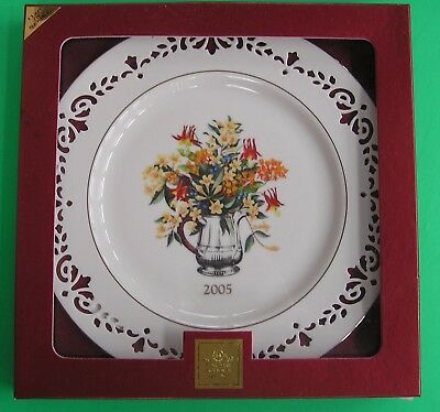 LENOX COLONIAL BOUQUET PLATE for 2005 New in Box 11th annual SOUTH CAROLINA