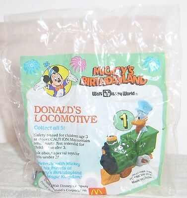 RARE 4 Diff 1988 McDonalds MICKEY MOUSE 50th B-DayTOYS1