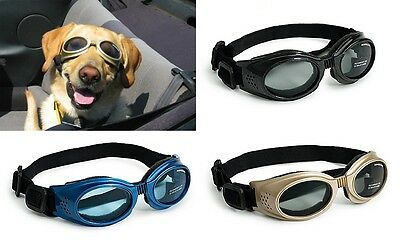 Doggles ORIGINALZ Dog Goggles UV Sunglasses ALL SIZES COLORS Eye Protection New