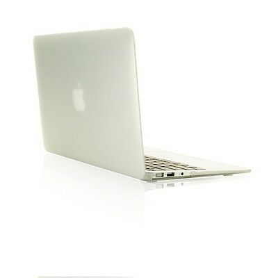 "NEW ARRIVALS! Rubberized CLEAR Hard Case for Macbook Air 13"" A1369  and A1466"