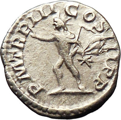 Caracalla 198AD Silver Ancient Roman Coin Sol Sun God Cult  i30192  Unpublished