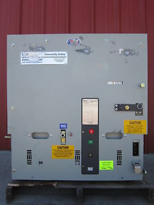 Powell NEW 3000 Amp 5 KV 05PV36STDX-2 Vacuum Circuit Breaker PowlVac scratched