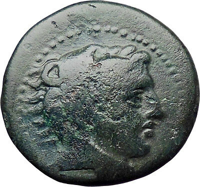 Alexander III the Great 336BC Ancient Greek Coin Hercules Bow Club  i30305