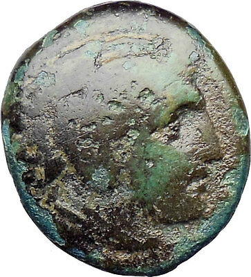 Alexander III the Great 336BC Ancient Greek Coin Hercules Bow Club  i30307