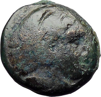 Alexander III the Great 336BC  Ancient Greek Coin Hercules Bow Club  i30309
