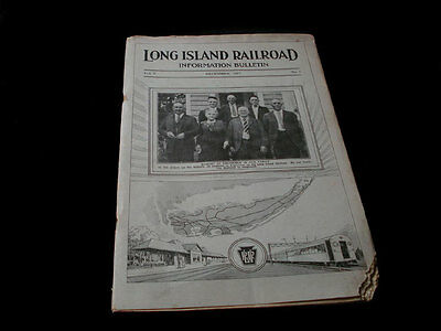 1927 Long Island Railroad Bulletin  Booklet