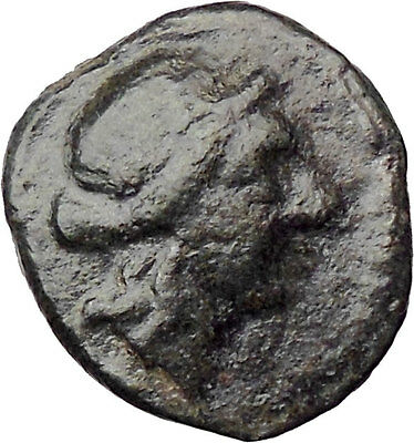 Thessalonica in Macedonia 158BC Ancient Greek Coin Artemis Strung bow  i30510