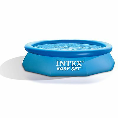 "Intex 10' x 30"" Easy Set Swimming Pool & 330 GPH Filter Pump 