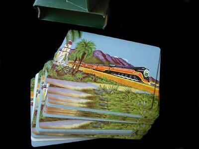 Southern Lines Pacific Railroad Playing Cards