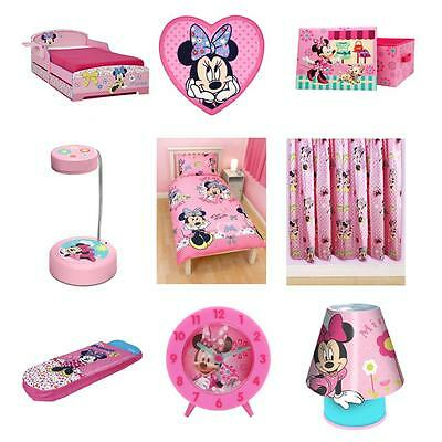 Minnie Mouse Bedding, Duvet Covers & Bedroom Accessories - Free Delivery