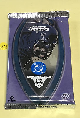 Vs. System DC Origins 1st Edition Booster Pack from Box NEW Batman Superman CCG