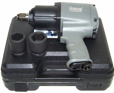 "3/4"" Drive Air Impact Wrench Twin Hammer 1250 ft/lb max  2 1"" DR socket H D Gun"