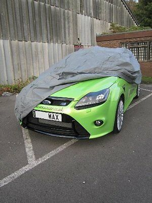 Water Resistant Breathable Full Car Cover To Fit Ford Focus Cars (L)