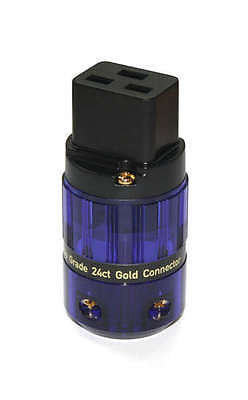 Isotek Evo3 Gold Plated C19 High Current Iec Connector |  Audiophile Quality