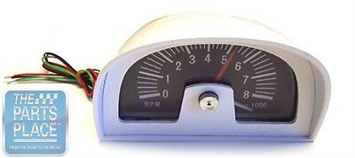 1969 Dodge Charger Hood Tach Dixco Style - 8000 RPM NOS Quality