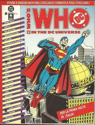 WHO'S WHO IN THE DC UNIVERSE n° 1 (Play Press, 1991)