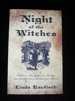 Brand New! Night Of The Witches  Folklore Herbs Recipes Pagan Celebration