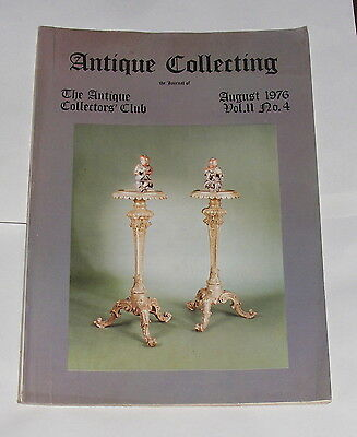 Antique Collecting August 1976 - Decorative Bronzes 1830 Onwards
