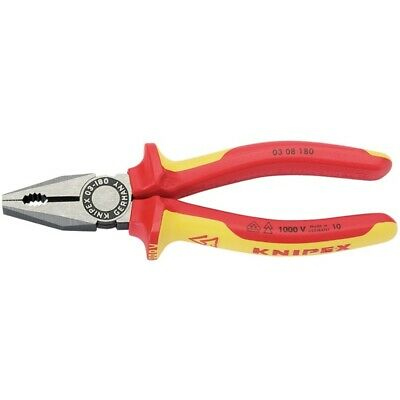 Knipex 180mm Insulated Combination Pliers