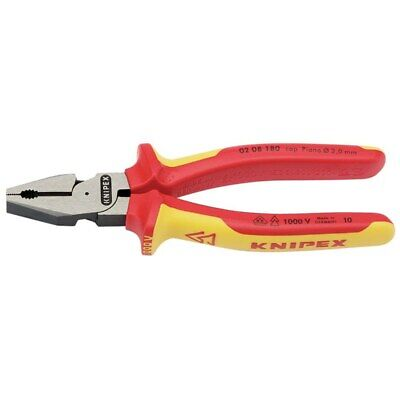 Knipex 200mm Insulated Leverage Combination Pliers