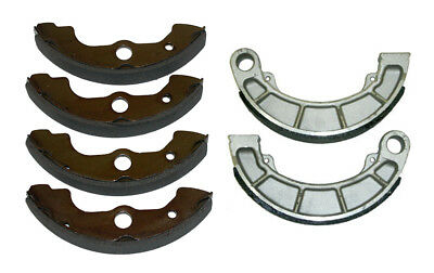 Front & Rear Brake Shoes Honda Rancher 350 Rancher 400 Foreman 400 Foreman 450