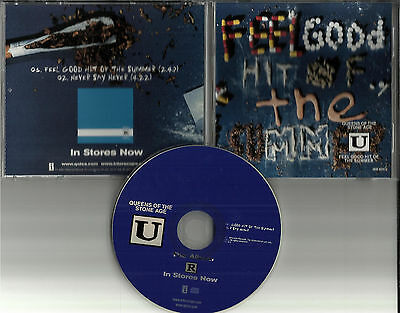 QUEENS OF THE STONE AGE Feel Good Hit w/ UNRELEASED TRK PROMO DJ CD Single USA