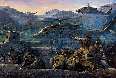 """Dawn Departure"" James Dietz Artist Proof - Tribute to Our Armed Forces"