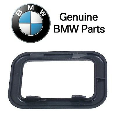 For BMW E23 E28 Front Left or Right Covering-Inside Door Handle Black Genuine
