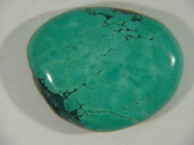 BUTW Genuine Natural Chinese Turquoise Lapidary Freeform Cabochon 9477C