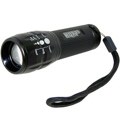 HQRP UV LED Ultra Violet Zoomable Black Light for Antiques / Collectibles / Art
