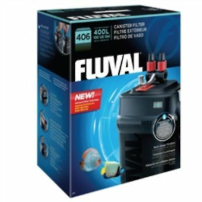 Fluval 406 External Aquarium Filter Plastic Fish Tank Filtration Cleaning Pets