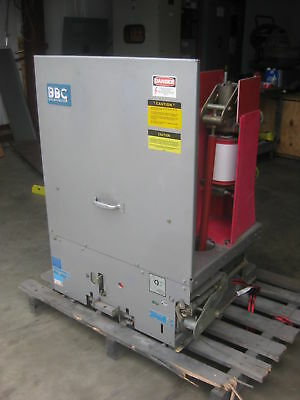 Brown Boveri 1200 Amp 15 KV Model 03-C Vacuum Circuit Breaker ITE Power Breaker