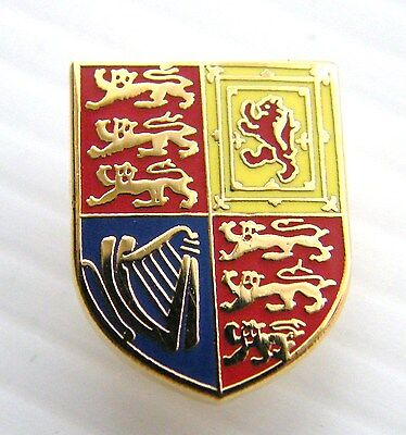 The Royal Cypher Standard Crest Lapel Pin Army Military Badge In Free Gift Pouch