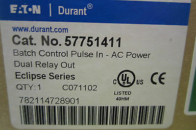 New Eaton Durant 57751411 Batch Control Pulse