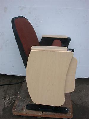 Irwin Seating Cinema Theater Chair Seat Writing Tablet Power Electric Outlet Dis