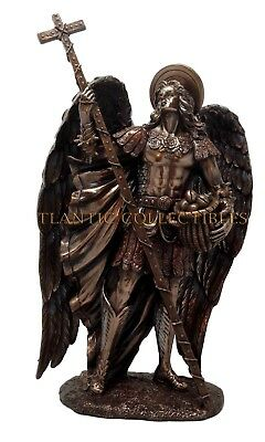 "SAINT BARACHIEL ARCHANGEL STATUE PROVISION OF GOD DIVINITY SERIES 11.25"" FIGURE"