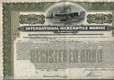 #1 TITANIC FIND!! GIANT $5000 BOND w SHIP! $10,000 ALSO AVAIL! AMAZING RARITIES!