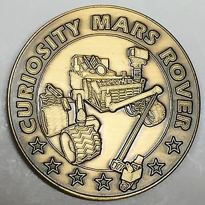 N513   Nasa  Space  Coin /  Medal, Mars  Rover Mission   Curiosity, Landing Date