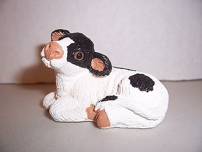 """COW - Miniature Figurine  (""""Adopt-a-Pet"""" - Mini-Life - by Art Collectibles)"""