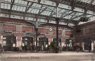 Fleetwood Railway Station by Frith # 35590.