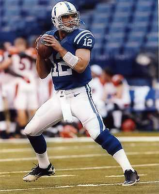 ANDREW LUCK INDIANAPOLIS COLTS  8X10 SPORTS PHOTO (T-1)