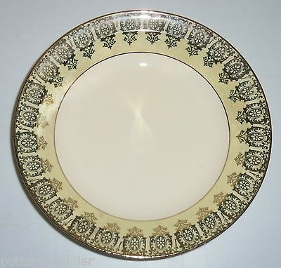 Taylor Smith Taylor Yellow W/Gold Decoration Rimmed Soup Bowl!