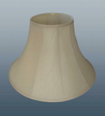 """Bell Fabric Floor Table Lamp Light Shade Lampshade Cream in 6 12 14 16 18 or 22"""""""