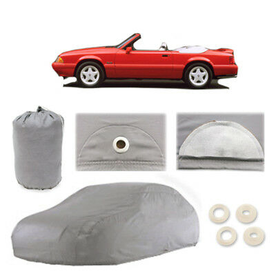 Ford Mustang 4 Layer Car Cover Fitted Outdoor Water Proof Rain Sun Dust 3rd gen