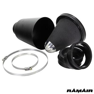 RAMAIR Performance Cold Air Foam Filter Maxflow Nero CAI Universal 70-90mm