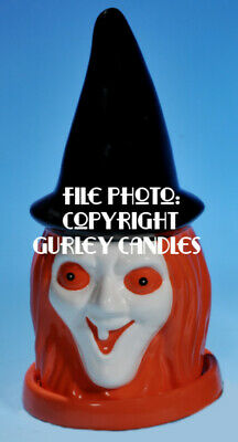 """Gurley """"Saf-T-Glo""""  Candle Lamp - Witch's Head"""
