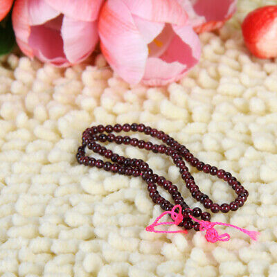 3mm Red Natural Garnet Round Loose Beads Gemstones Great for DIY Jewelry Making
