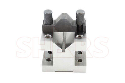 "OUT OF STOCK 90 DAYS SHARS 2-3/8"" x 2-3/8"" x 2"" ""V"" Block & Clamp Set NEW"