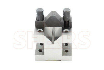 "SHARS 2-3/8"" x 2-3/8"" x 2"" ""V"" Block & Clamp Set NEW"