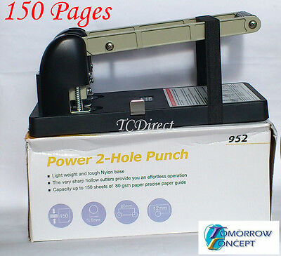 Kw TriO Heavy Duty 2 Two Hole Punch 150 pages